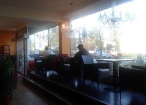 Oh, Zehlendorf - wie sonnig war doch dein Wintermorgen!