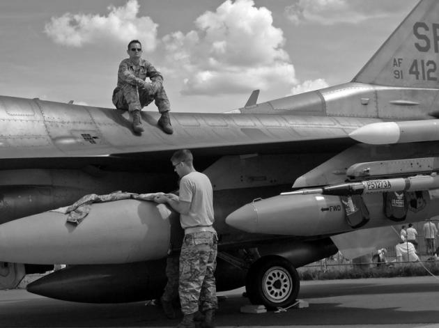 Kamen sich bestimmt vor wie Zootiere: amerikanische Soldaten
